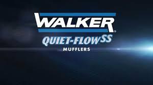 nissan titan quiet performance exhaust walker quiet flow stainless steel muffler youtube
