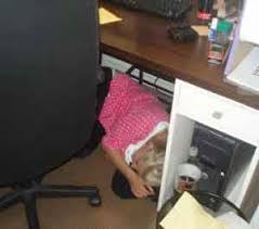 7 strategies for sleeping on the job by onlineclock
