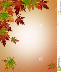 free printable thanksgiving borders autumn fall leaves border royalty free stock photography image