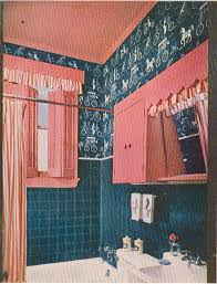 Pink Tile Bathroom 1956 A Good Year For Pink Bathrooms Hooked On Houses