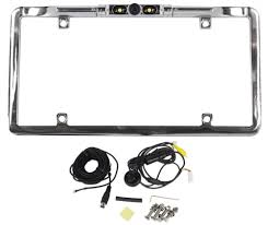 boyo vtl275hdl chrome license plate backup vision