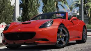 Ferrari California 2016 - ferrari california autovista add on replace gta5 mods com