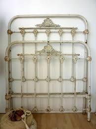 antikes eisenbett aus frankreich shabby chic antique ironbed