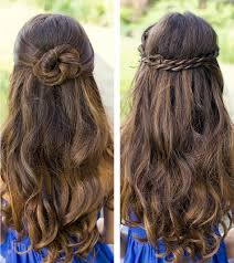and simple hairstyles for long thick hair 2017