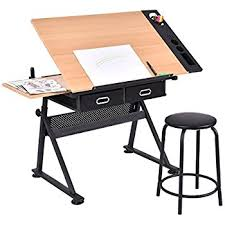 Artist Drafting Tables Coaster Desks Artist Drafting Table Desk Amazon Co Uk Kitchen U0026 Home