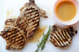 dijon rosemary bone in ribeye pork chops pork recipes pork be