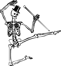 Halloween Skeleton Free Skeleton Clipart Public Domain Halloween Clip Art Images