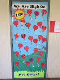 red ribbon week door decorating inspiration enter your best red