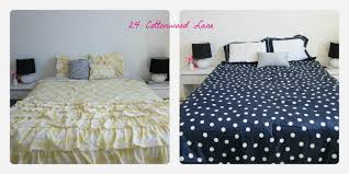Navy Blue And Coral Bedroom Ideas Lamp Makeover And Bedroom Update