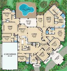 luxury home floor plans stunning luxury 4 bedroom house plans contemporary ideas house