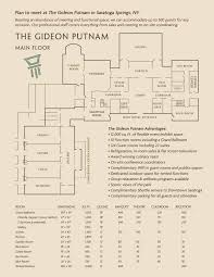 Massage Spa Floor Plans by Host Your Business Meeting Gideon Putnam Saratoga Springs Ny