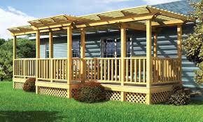 affordable porch design ideas mobile home front deck designs for