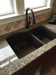 How To Clean A Granite Composite Sink Sinks Sprays And Cleaning - Kitchen sinks granite composite
