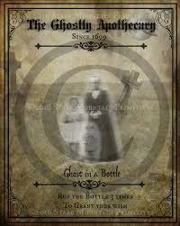 halloween journal primitive ghost apothecary magic spells halloween spooky label