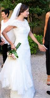 popular trumpet style wedding gown with crystal sequins buy cheap