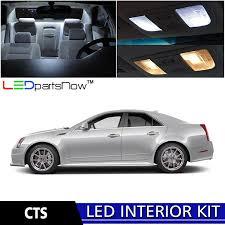 cadillac cts 2013 interior amazon com ledpartsnow 2008 2013 cadillac cts led interior lights