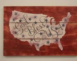 Vintage Americana Decor Americana Wall Decor Etsy