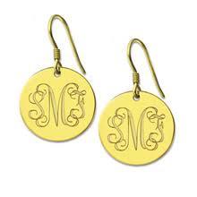 Monogrammed Earrings Online Get Cheap Nameplate Earrings Aliexpress Com Alibaba Group