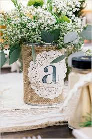 Shabby Chic Wedding Centerpieces by Best 25 Tin Can Centerpieces Ideas On Pinterest Spray Paint