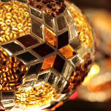 Amber Chandelier Mosaic Chandelier In Amber Five Globes Mosaic Lamps Nyc