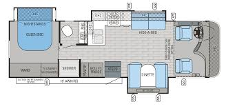 Class B Motorhome Floor Plans by 2017 A C E 30 2 Bunkhouse Motorhomes A And C Evolution