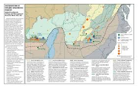 Columbia Missouri Map Srs Compass Issue 9 Distribution Of Upland Hardwood Forests