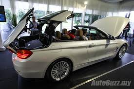 bmw 4 series hardtop convertible bmw 4 series convertible launched in malaysia 428i priced at