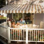 Sunset Awning Screen Porch Kits Install On Awnings To Make A Porch Enclosure