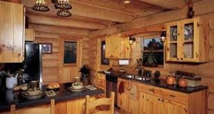 Log Cabin Kitchen Cabinets Dazzle Pictures Munggah Perfect Isoh Intriguing Mabur Ravishing
