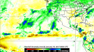 Spine Map Nasa Sees Pineapple Express Deliver Heavy Rains Flooding To