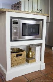 kitchen island elegant kitchen cabinets storage with microwave