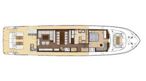 Luxury Yacht Floor Plans by 100 Skylounge Ocean Alexander
