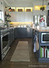 ideas for cabinet lighting in kitchen diy and lower cabinet lighting from thrifty decor