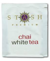 stash chai white tea 10 teabags grocery gourmet