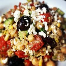 Ina Garten Greek Salad Brown Rice Greek Salad Recipe U2013 The Lemon Bowl Keeprecipes Your