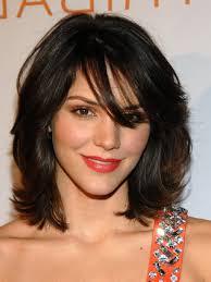 cute short haircuts for thick curly hair short hair cuts for women katharine mcphee medium hairstyles