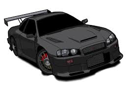 paul walkers nissan skyline drawing nissan skyline clipart
