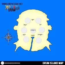 One Piece Map Information On Drum Island
