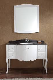 bathroom furniture double integrated sinks cream dark gray medium