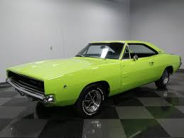 1968 dodge charger green sublime green 1968 dodge charger for sale mcg marketplace