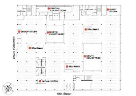 emergency exit floor plan template maps and directions auraria library