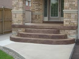 Removing Paint From Concrete Steps by How To Paint Concrete Front Porch Bonaandkolb Porch Ideas