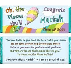 oh the places you ll go graduation the places you ll go graduation candy bar wrapper