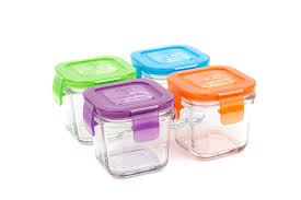 Cheap Water Storage Containers Amazon Com Wean Green Glass Baby Food Storage Containers Wean