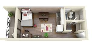 General Central Park Rexburg Apartment Studio Apartment Floor