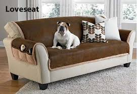 protection in vintage leather pet cover