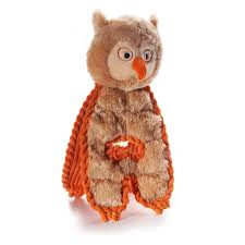 charming cuddle tugs dog toy optimistic owl with same day
