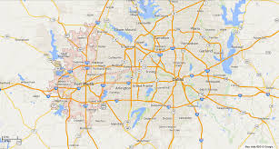map of dallas fort worth service area for crescent water for dallas fort worth tx