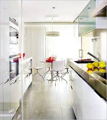 more galley kitchens that end in dining tables possibly w mud