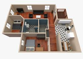 3d house floor plan 2 cgtrader